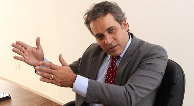 """Presidente da OAB-GO, Henrique Tibúrcio: """"Empresa não vota, então não deve participar da eleição""""   Foto: Fernando Leite/Jornal Opção"""