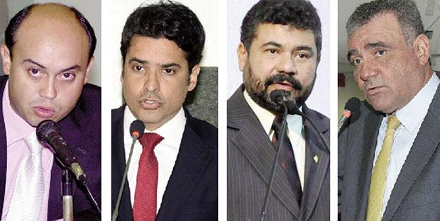 Deputados Sandoval Cardoso, Marcelo Lelis, Sargento Aragão e José Augusto são alguns dos candidatos à eleição indireta