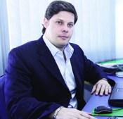 """Secretário Rafael Lousa: """"Governo quer consolidar polo logístico""""   Foto: Fernando Leite/Jornal Opção"""