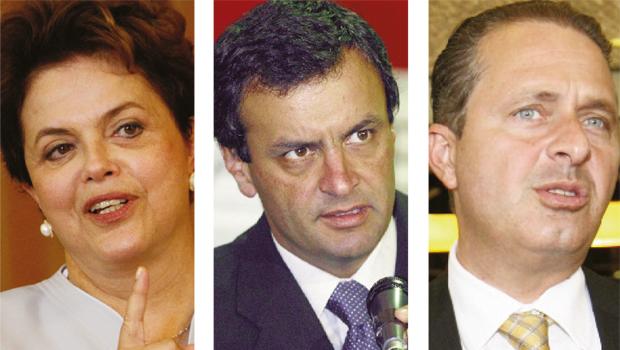 Com avanço de Aécio, pleito presidencial pode ir para o 2º turno