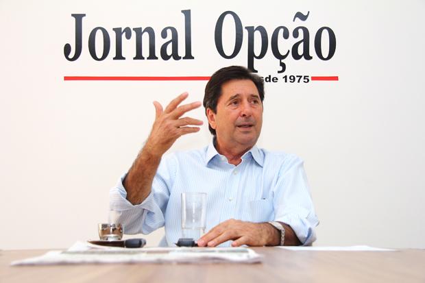 Livro faz referência à época em que Maguito Vilela era governador de Goiás. Defesa do peemedebista irá recorrer  | Foto: Fernando Leite/Jornal Opção
