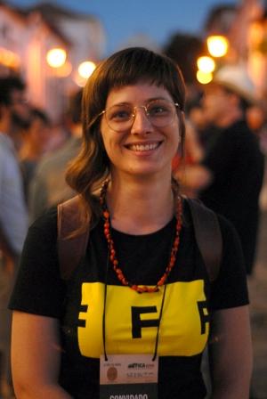 Marcela Borela: vídeo experimental foi feito com espontaneidade. Foto: Marcello Dantas/Jornal Opção Online