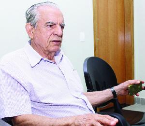 Ex-prefeito Iris Rezende: estocadas contra Júnior Friboi | Fernando Leite/Jornal Opção