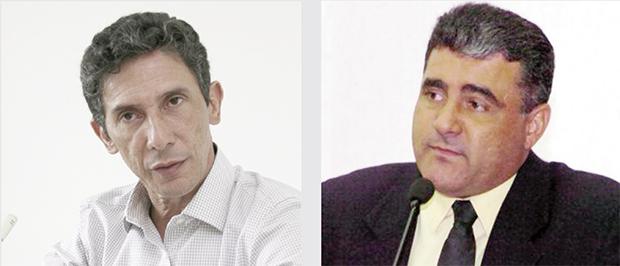Ex-prefeito de Palmas Raul Filho e deputado José Augusto: entre os nomes abatidos antes da convenção / Foto: Edilson Pelikano e Diretoria de Divulgação/AL