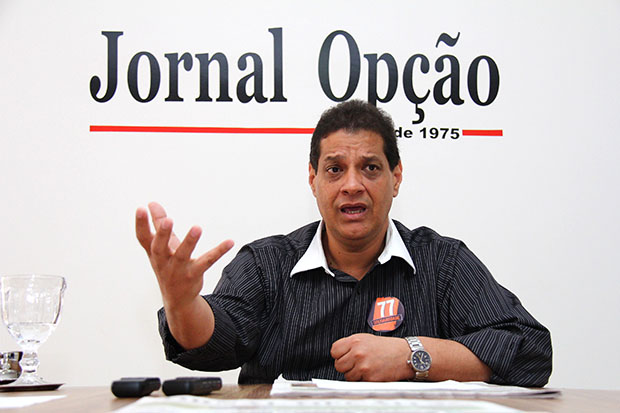 """""""Nunca rompi com Marconi Perillo"""", diz presidente do Solidariedade Armando Vergílio"""