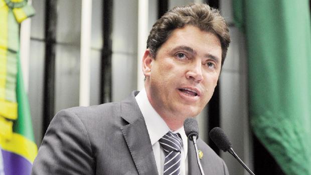 "Wilder Morais, senador democrata: ""O governador de Goiás, o tucano Marconi Perillo, é um fenômeno como político e gestor"" | Foto: Moreira Mariz"