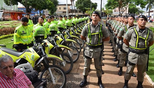 Policiais militares do Simve: mais 1,2 mil nas ruas goianas e expectativa de 2,6 mil até o fim de 2014