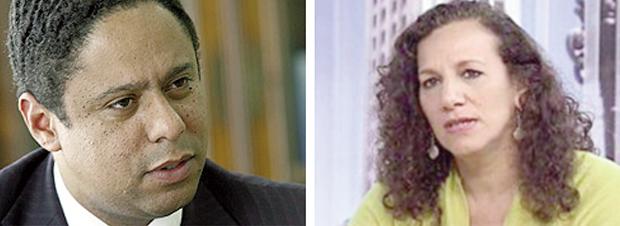 Orlando Silva e Jandira Feghali: o primeiro foi expurgado do governo, acusado de corrupção no ministério, e a segunda persegue jornalista