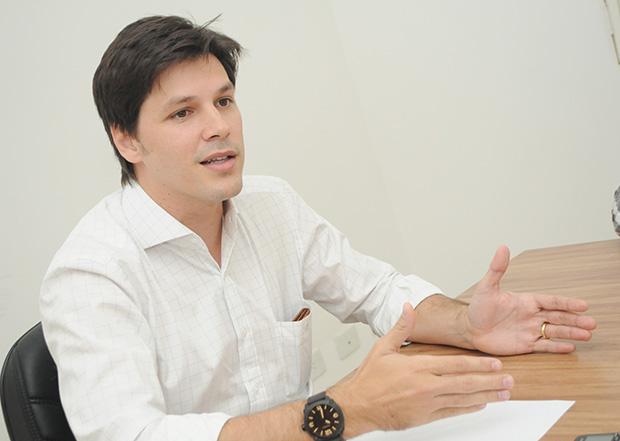 Deputado estadual, Daniel Vilela (PMDB) / Foto: Fernando Leite/ Jornal Opção
