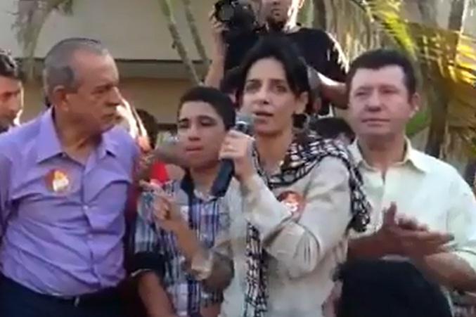 """Filha de Iris Rezende afirma que não chamou o grupo de Friboi de """"cambada""""; veja vídeo"""