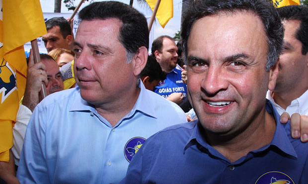 Aécio Neves e Marconi Perillo mantêm diálogo aberto sobre disputa presidencial