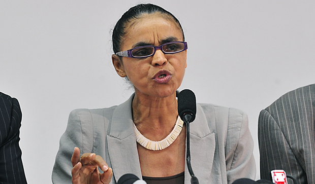 """Marina Silva será a """"vice"""" com maior moral dessas eleições"""