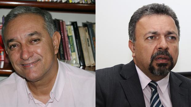 Martiniano Cavalcante e Elias Vaz procuram Iris Rezende em seu QG