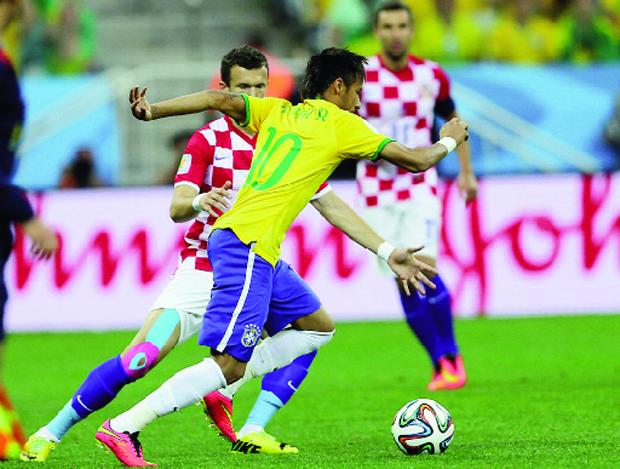 Seleções do Brasil e da Croácia jogam na abertura da Copa do Mundo: competição vai quebrar o País | Foto: Jefferson Bernardes/VIPCOMM