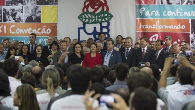 Em convenção nacional, PDT oficializa apoio à reeleição de Dilma
