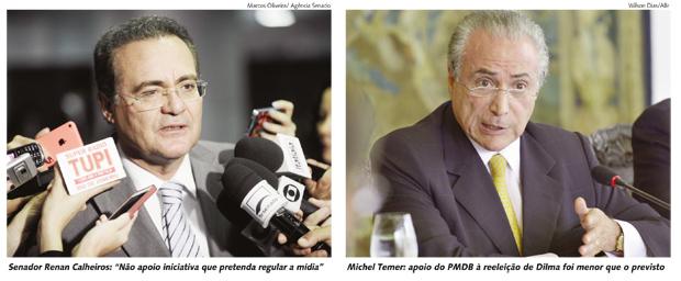 Sob pressão do PMDB, a presidente terá de encarar o debate sobre o novo aparelho