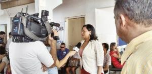 Patrícia Oliveira, presidente da Associação dos Deficientes Visuais, que participará da Feira do Empreendedor | Foto: Fotos: Arquivo Pessoal