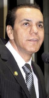 Senador Ataídes Oliveira: reclamação na tribuna / Foto: Pedro Dias/Agência Senado
