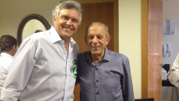 Iris e Caiado criticam atual situação do Estado em reunião com apoiadores do interior