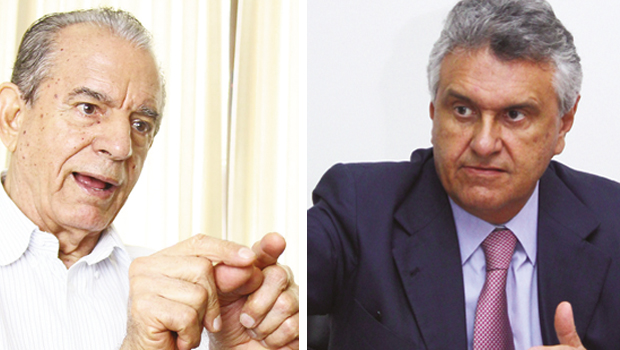 """Iris """"envelhece"""" a prática política de Caiado e este não """"rejuvenesce"""" a prática política daquele"""