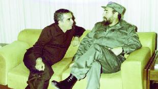 García Márquez e Fidel Castro: amizade estreita levou o escritor a se omitir em relação à ditadura protagonizada pelo líder máximo de Cuba