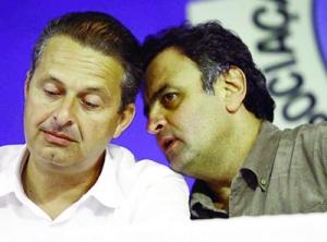 Entre os três candidatos, Eduardo Campos e Aécio Neves têm menos rejeição