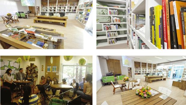 O Ambiente do Conhecimento é um projeto referência em sustentabilidade, pois é um local de troca de expertises que beneficiam o meio ambiente | Fotos: Divulgação/Sebrae