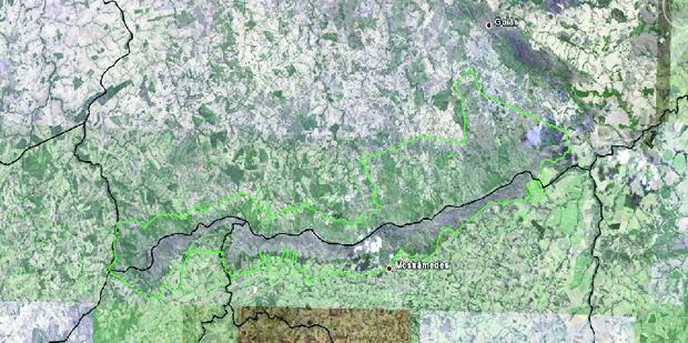 Extensão do Parque Estadual da Serra Dourada é objeto de discórdia entre Sindicato  dos Produtores Rurais da cidade de Goiás e Associação dos Geógrafos Brasileiros