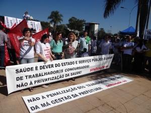 O Sindsaúde não aceitou a proposta de negociação feita pela Prefeitura de Goiânia no último dia 9/6. | Foto: Sindsaúde