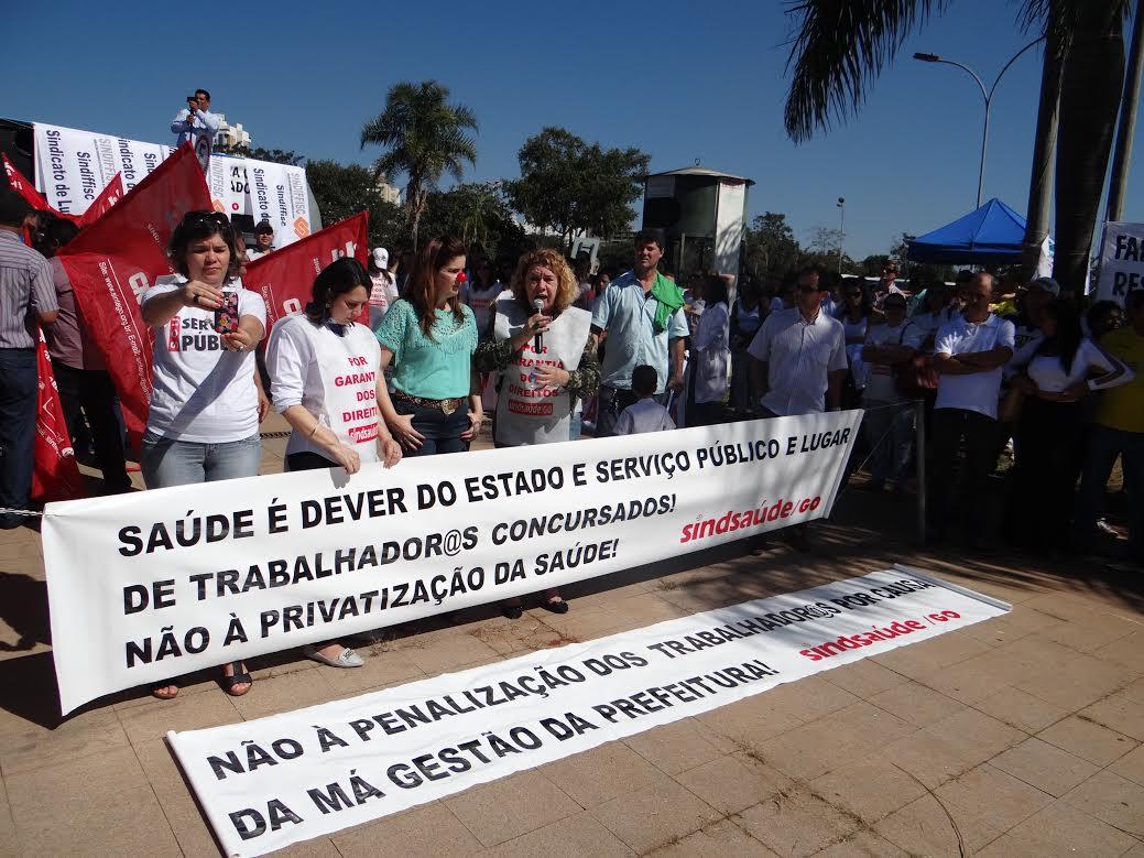 Trabalhadores municipais da Saúde preparam protesto para próxima 2ª-feira em frente ao Paço Municipal