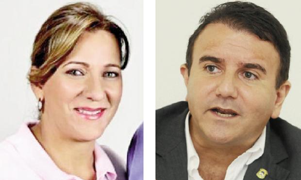 Dulce Miranda e Eduardo Siqueira Campos: eles também podem ser candidatos ao governo. Fotos: Reprodução/Fecebook e Fernando Leite/Jornal Opção
