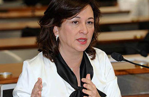Senadora Kátia Abreu derrubou artimanha do velho siqueirismo / Foto: Luiz Alves/Agência Senado