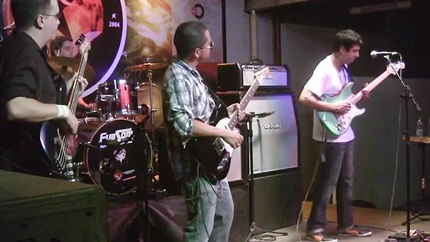 Show da banda durante o Tendencies Rock Festival, em Palmas (TO) | Foto: Reprodução/YouTube