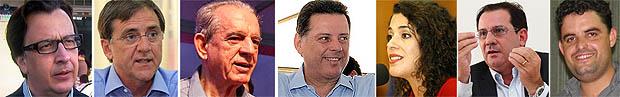 Candidatos ao governo estadual cumprem agenda no sábado| Fotos: Reprodução e Jornal Opção