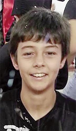 Bernardo Boldrin, 11 anos, foi morto por injeção letal e teve o corpo enterrado perto de um rio | Foto: Reprodução