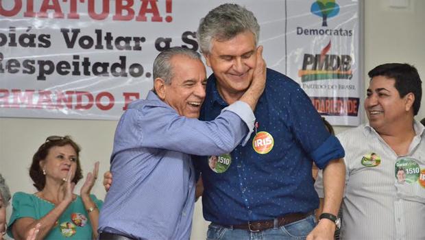 """Ronaldo Caiado diz que chapa governista """"está enclausurada no Palácio das Esmeraldas"""""""
