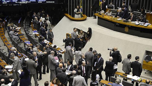 Sessão extraordinária da Câmara dos Deputados que definiu pela votação da LDO em agosto | Foto: Valter Campanato/Agência Brasil