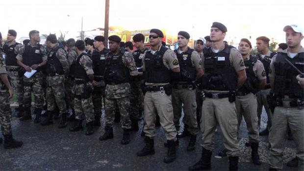 PM lança operação para reduzir a criminalidade em Goiânia