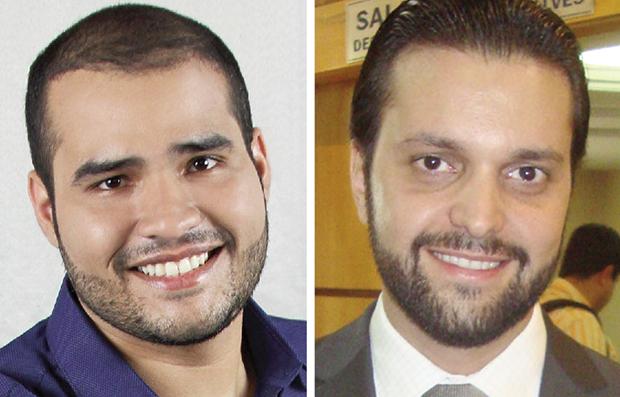 Lucas Vergílio: mais cursos profissionalizantes no País Alexandre Baldy: mais serviços públicos de qualidade