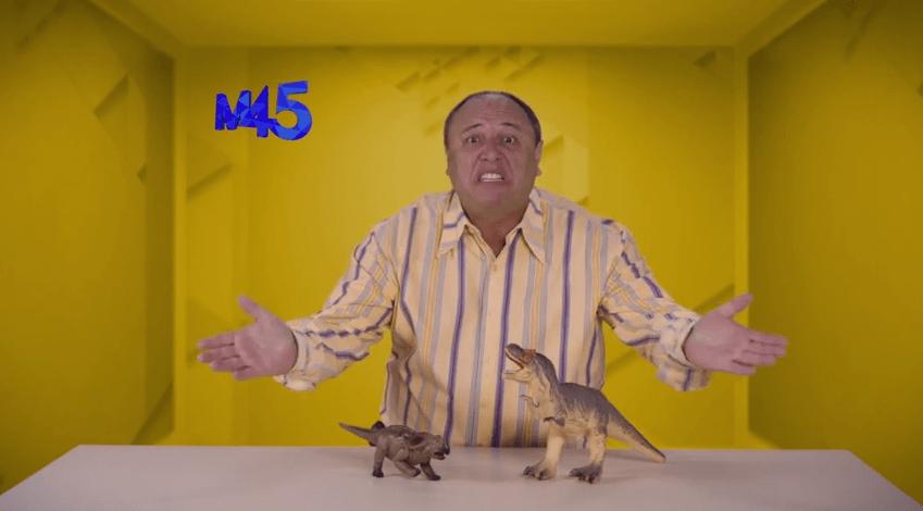 """Em novo vídeo, Nerso da Capitinga diz que opositores podem chamar """"Spir Bergui"""" para fazer o """"Parque dos Denossauro"""""""