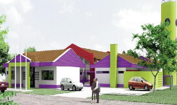 Maquete da creche que será construída no Setor Sol Dourado: benefícios para mais famílias trindadenses
