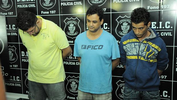 Quadrilha presa em Goiás tinha limite de meio milhão em banco