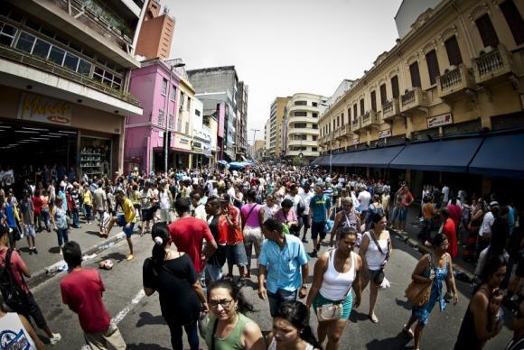 Brasil tem mais de 202 milhões de habitantes, diz IBGE