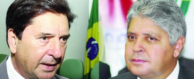 Em 2006, Maguito Vilela (no alto) era o favorito, mas Alcides Rodrigues (acima) virou o jogo e se reelegeu. Foto: Wesley Costa | Ana Paula Abrão