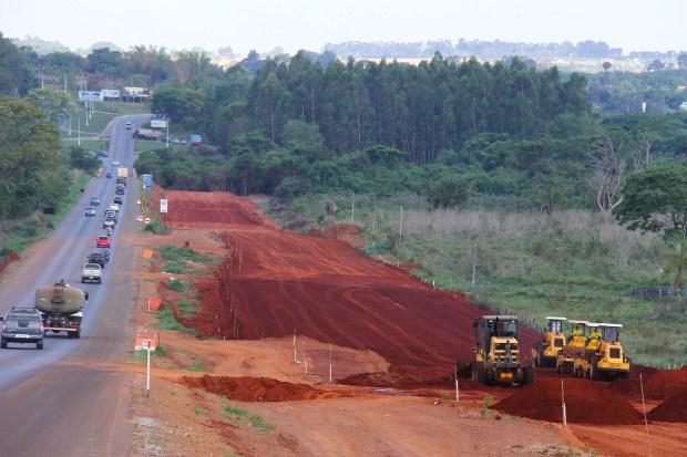 O acidente está sendo monitorado pela Agetop | Foto: Fernando Leite / Jornal Opção