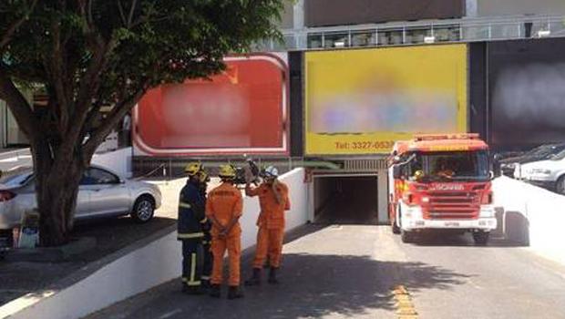 Dois homens ficam feridos em explosão em shopping de Brasília