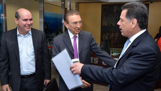 Marconi se reúne com o ministro das Minas e Energia para tentar destravar negociações entre Celg e Eletrobras