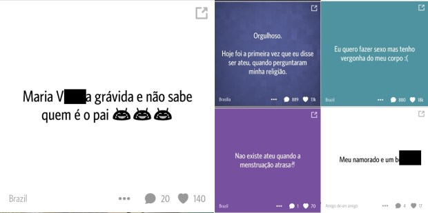 Postagens anônimas aumentam casos de bullying virtual |Foto: Divulgação