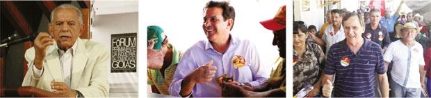 Em 2010, Iris Rezende tinha apoio e perdeu. Em 2014... Vanderlan Cardoso: não conseguiu emplacar na disputa Antônio Gomide, o novato da disputa, só aparece como coadjuvante