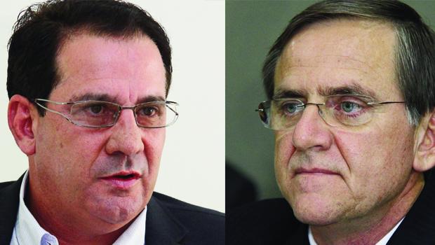 Antônio Gomide (acima), ex-prefeito de Anápolis, e Vanderlan Cardoso,  ex-prefeito de Senador Canedo:  o calcanhar-de-aquiles do primeiro  é o setor de saúde; o segundo  tem ação mais positiva na área
